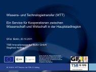 Ein Service für Kooperationen zwischen Wissenschaft und ... - GFaI