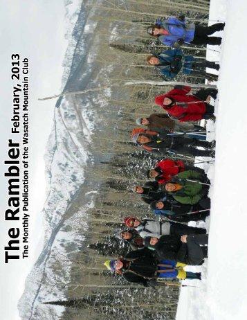 Feb - Wasatch Mountain Club