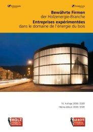 Entreprises expérimentées - Canton de Neuchâtel