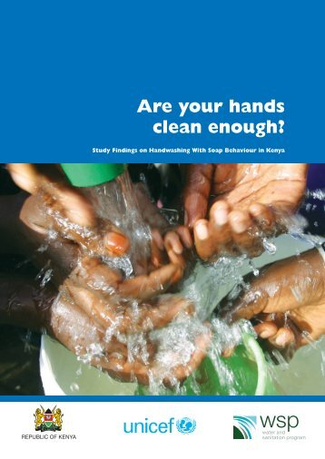 Are your hands clean enough?