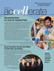 Discovering Roots of a Cure for Cerebral Palsy