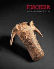 Auktion Stammeskunst 20. Juni 2011 - Galerie Fischer Auktionen AG