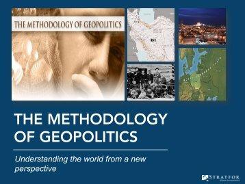 THE METHODOLOGY OF GEOPOLITICS