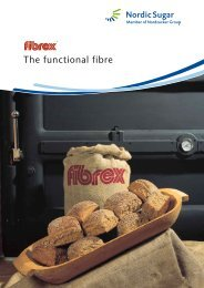 The functional fibre