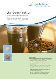 """Fairtrade"" cukrus"