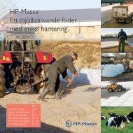 HP-Massa Ett mjölkdrivande foder med enkel hantering
