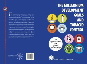 THE MILLENNIUM DEVELOPMENT GOALS AND TOBACCO ...