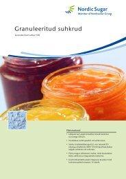 Granuleeritud suhkrud