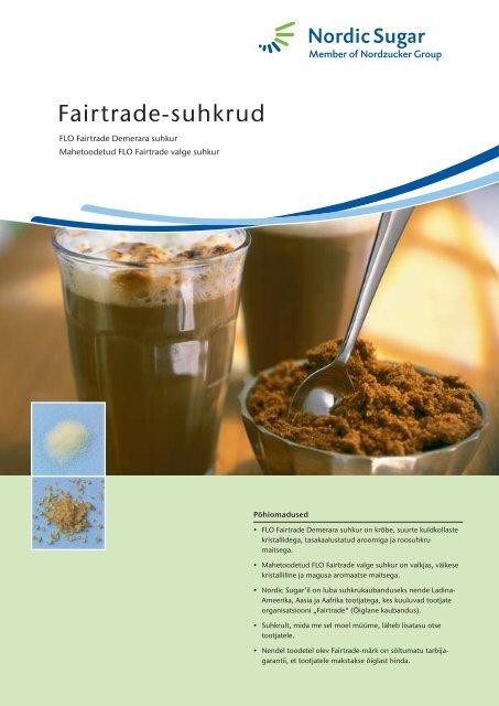 Fairtrade-suhkrud