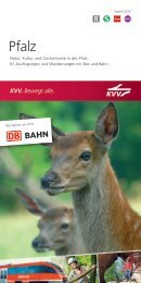 Pfalz - KVV - Karlsruher Verkehrsverbund
