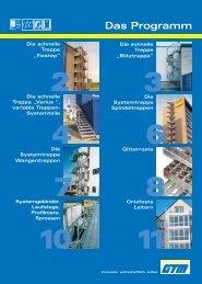 Das Programm - GTM Gitterroste + Treppen GmbH