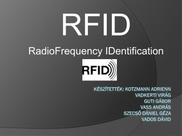 RadioFrequency IDentification