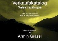 Verkaufskatalog / Sales Catalogue