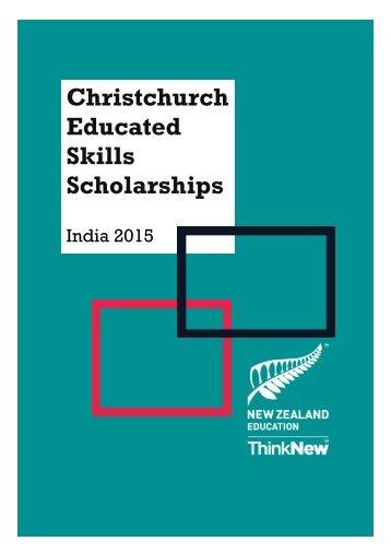 Skills Scholarships