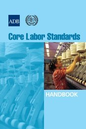 Core Labor Standards Handbook - International Labour Organization