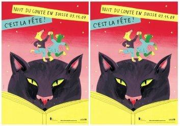 La Nuit du conte en Suisse 2007 Programme romand Fribourg