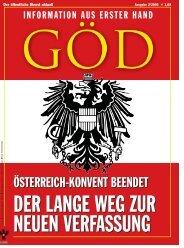österreich-konvent beendet österreich-konvent beendet - GÖD