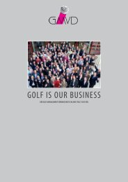 GOLF IS OUR BUSINESS - GMVD