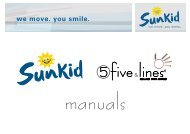 Sunkid five & lines      Anleitung - manual