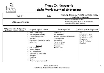 Tree Protection Method Statement