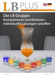 LBPlus Kompetenzen kombinieren - Das Magazin der LB GmbH