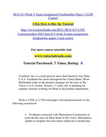 Bus 415 state of confusion paper