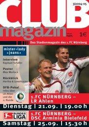 LR AHLEN - 1. FC Nürnberg