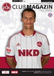 DER CLUB - 1. FC Nürnberg