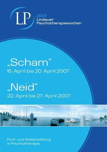 Fort- und Weiterbildung in Psychotherapie - Lindauer ...