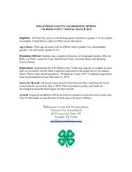 """Williamson County 4-H Shooting Sports """"School's ... - Tennessee 4-H"""