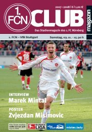 the club! - 1. FC Nürnberg
