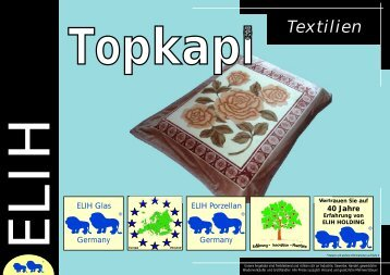 Topkapi Katalog Textilien - ELIH International