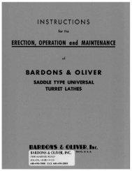 21 & 22 UTL Installation, Operation & Maintenance 2-49 - Bardons ...