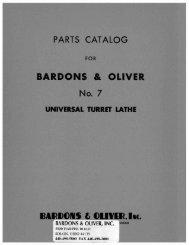 7 UTL Parts Manual 8-52 - Bardons & Oliver Inc.