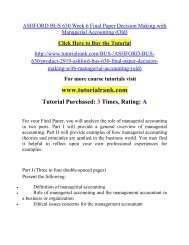 ASHFORD BUS 630 Week 6 Final Paper Decision Making with Managerial Accounting (Old).pdf