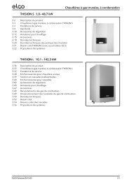 Chaudières à gaz murales, à condensation THISION S 1,0 – 48,7 ...