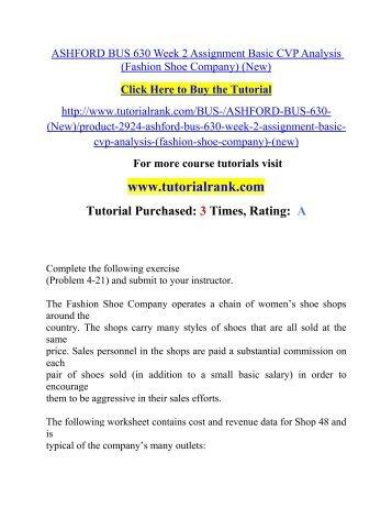 ASHFORD BUS 630 Week 2 Assignment Basic CVP Analysis (Fashion Shoe Company) (New).pdf
