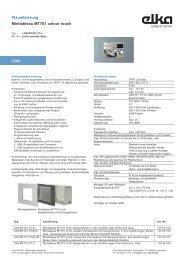 pi_1300x10x_MT701.pdf - ELKA-Elektronik GmbH
