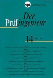 editorial - Bundesvereinigung der Prüfingenieure für Bautechnik eV