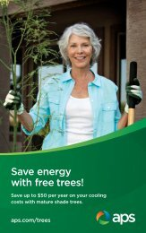 Save energy with free trees!