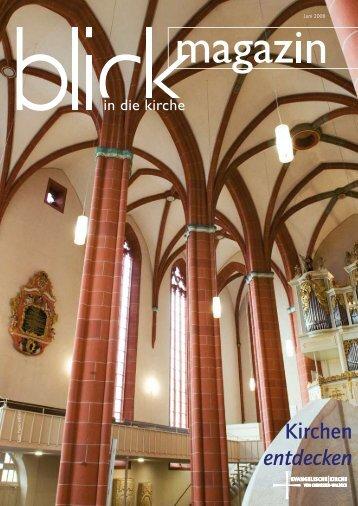 Kirchen entdecken - Evangelische Kirche von Kurhessen-Waldeck