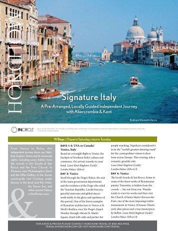Signature Italy