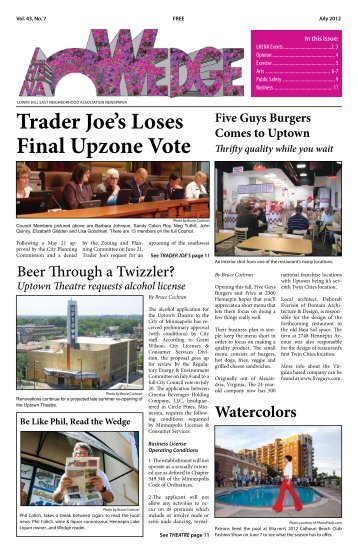 Trader Joe's Loses Final Upzone Vote