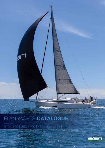 ELAN YACHTS CATALOGUE