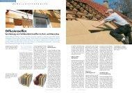 Diffusionsoffen Verarbeitung von Holzfaserdämmstoffen im Holz