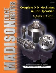 Complete O.D Machining in One Operation