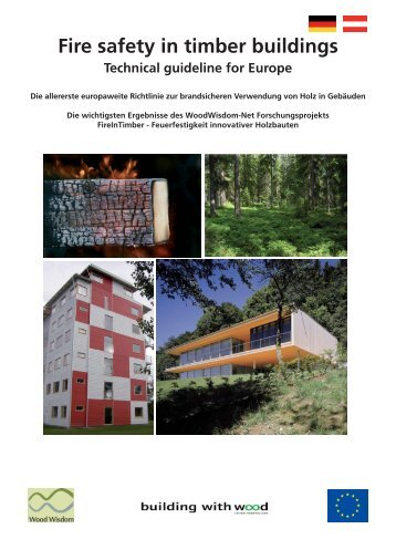 Fire safety in timber buildings Technical guideline for Europe