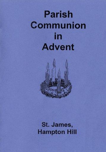 Parish Communion in Advent