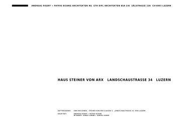 haus steiner von arx landschaustrasse 34 luzern - rigert-bisang.ch
