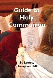 Guide to Holy Communion
